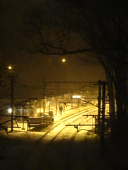 Longwood (historygradguy (jobhunting)) Tags: light snow boston night ma publictransportation massachusetts tracks newengland winner rails mbta masstransit mass longwood bostonist challengeyouwinner