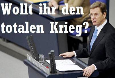 Bundesaußenminister Guido Westerwelle (FDP) gibt am Mittwoch (10.02.2010) im Bundestag in Berlin eine Regierungserklärung zur neuen Afghanistan-Strategie ab. Daran schließt sich die erste Beratung des vom Kabinett beschlossenen Entwurfs für ein neues Mand