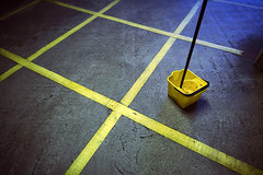 (jui*) Tags: road urban color detail colors lines yellow paint path painted