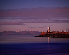 Wonder whit he's thinkin' (BoboftheGlen) Tags: lighthouse water scotland clyde ayr arran firth ayrshire coastuk