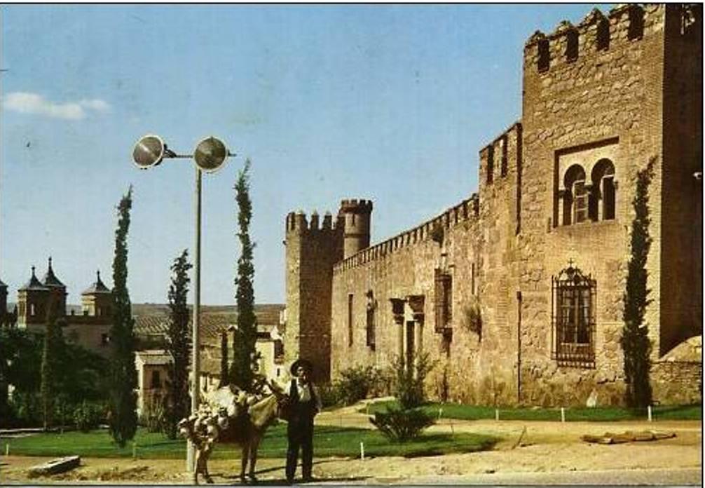 Palacio de los señores de Maqueda a mediados del siglo XX