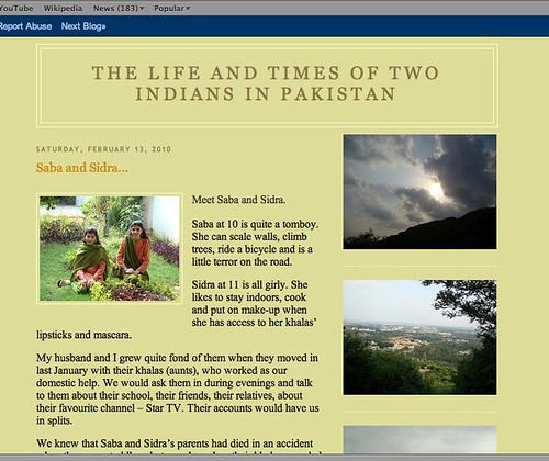 Two Indians in Isloo