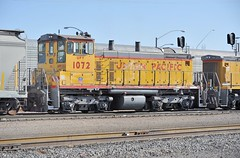 UPY EMD SW1500 1072, former SP 2466, built in August, 1967, in service at Tucson Yard, Arizona, January 14, 2010 (Ivan S. Abrams) Tags: railroad up train trains goods unionpacific motive freighttrains railyard railways railroads railyards freighttrain uprr shuntingyard unionpacificrailroad electricnikon d700 onlythebestare ivansabrams trainplanepro countysouthern ivanabrams shuntingyards traingoods trainsarmour yellowharbor graytucspnarizonapima arizonasoutheast arizonaemdgeelectromotive dieselelectro dieselgeneral abramsandmcdanielinternationallawandeconomicdiplomacy ivansabramsarizonaattorney ivansabramsbauniversityofpittsburghjduniversityofpittsburghllmuniversityofarizonainternationallawyer