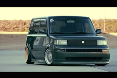 butter cream? (nickricophoto) Tags: canon ride air low stretch toyota bb scion rs bbs xb stance canon70200f4l 40d bbsquad