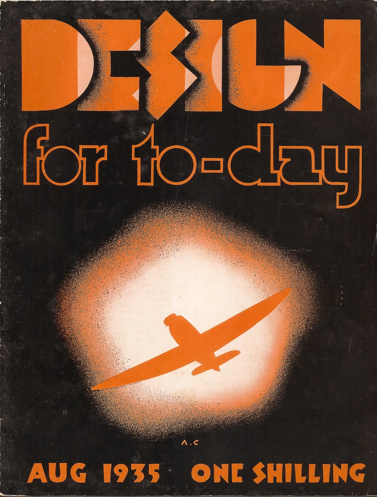 Design for Today - the magazine of the Design & Industries Association - August 1935