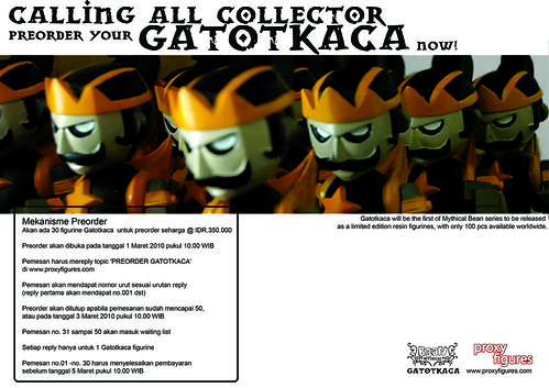 how to preorder Gatotkaca