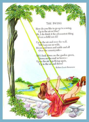 the swing poem