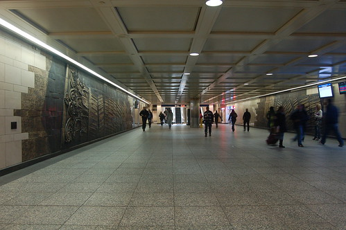 Penn Station Lower Level - Exit to 34th Street