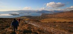 Loch Lomond from Conic Hill (Hugh Spicer / UIsdean Spicer) Tags: winter scotland february lochlomond 2010 westhighlandway inchcailloch conichill inchfad