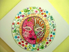 Mscara (marta.falcao) Tags: color reflection verde mirrors luck translucent artes decorao homedecor crculo sorte quadros lils mandalas colorido esoterico mistico feitoamo pedrarias handmadehandpainted mysticalesoteric