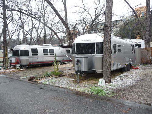 other airstreams in pecan grove rv park.