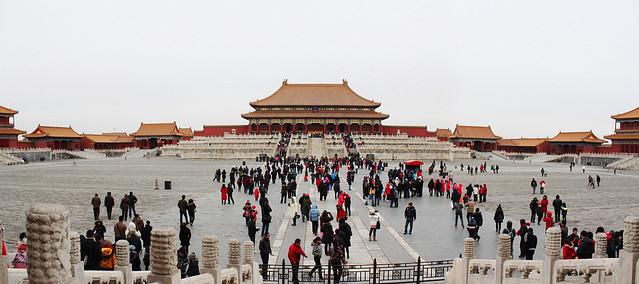 Forbidden City panorama