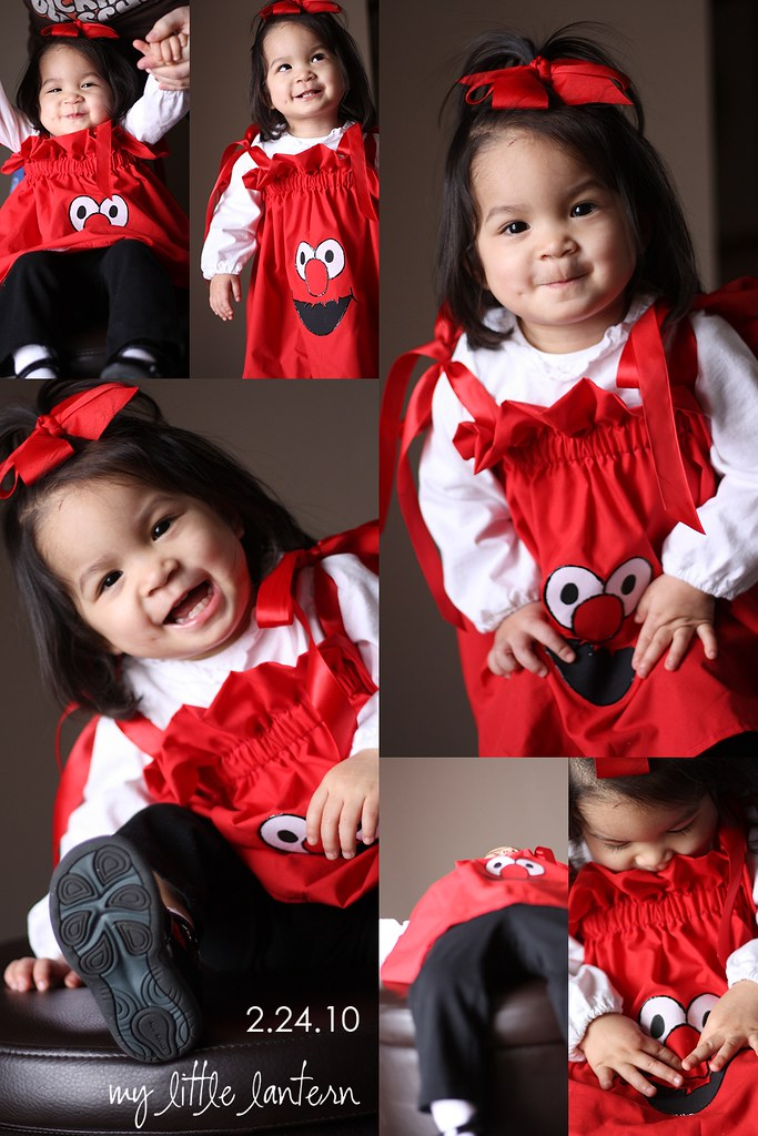 Elmo love collage
