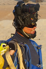 The Crown of Thorns. (OutFocus) Tags: male canon championship funny dubai head setup parachuting carrier 2010 thecrownofthorns hdvideos
