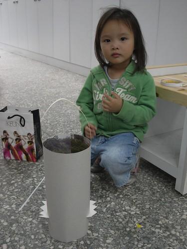 katharine娃娃 拍攝的 6小野人與環保燈籠。