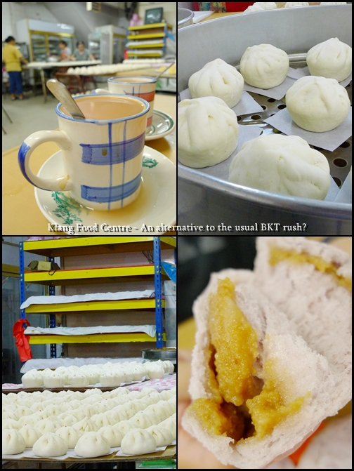 Klang Food Centre - Pau & Tea