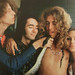 BP Fallon & Robert Plant & Vanessa Gilbert meet the snake & the snake man, Continental Hyatt House West Hollywood May 1973