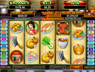 Wok and Roll slot game online review