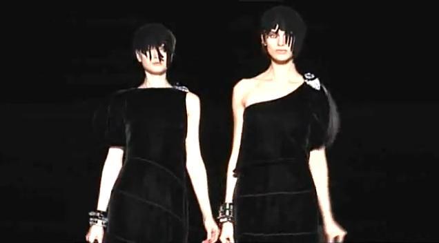 Giorgio Armani Fall/10 fashion show