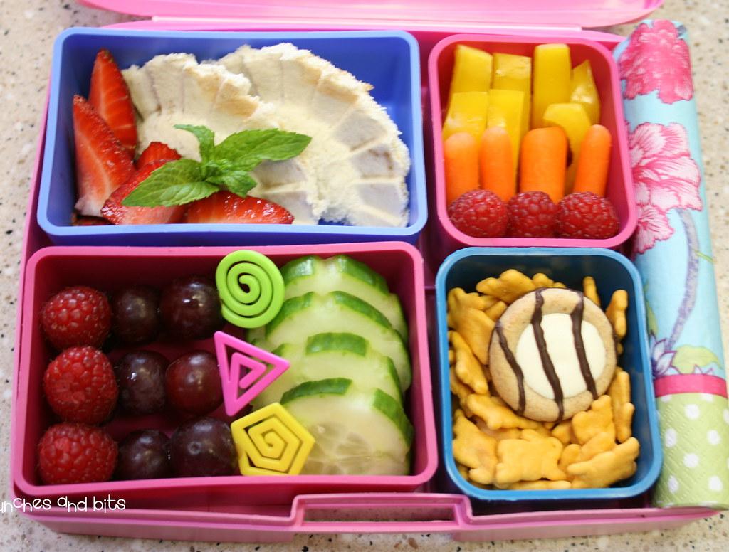 PB & Honey Sandwich Lunch