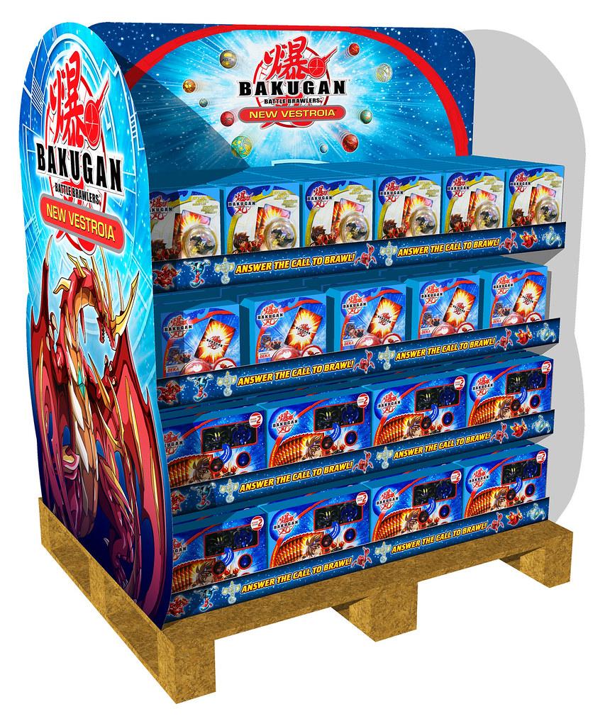 Bakugan New Vestroia Pallet Stacker