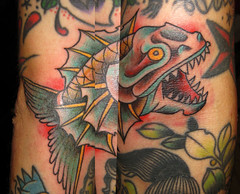 piranha (piranhart) Tags: tattoo tattoos piranha welldone pirana piraa xpiranhax