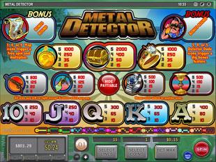 free Metal Detector slot mini symbol