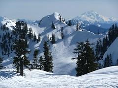 Glacier Peak from lookout