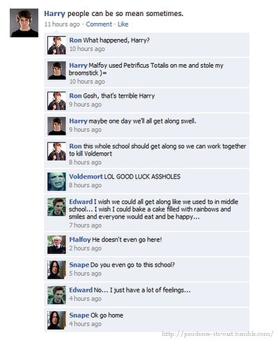 harry fb convo