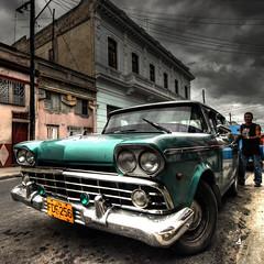 oldcar@La Habana (rinogas) Tags: old car nikon cuba unesco hdr lahabana avana rinogas