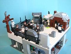 Mourn the Fallen (Brian Rinker) Tags: graveyard lego apocolypse brickarms