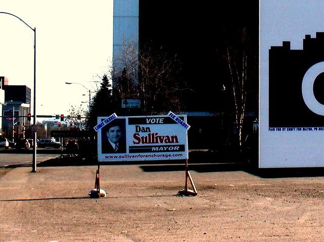 Dan Sullivan campaign sign