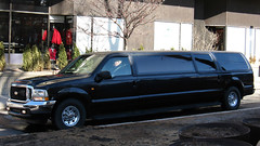 Ford Excursion Limo (Gerard Donnelly) Tags: ford car limo suv