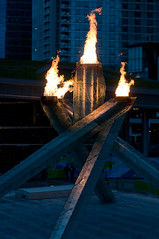 DSC_5080 (the PhotoPhreak) Tags: winter vancouver whistler fire symbol flame olympic cauldron 2010 paralympic