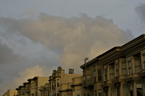 Clouds Above Polk Street