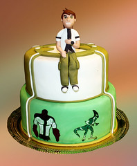 ben ten cake (Svetlana's cakes) Tags: birthday cake children ben 10 ten