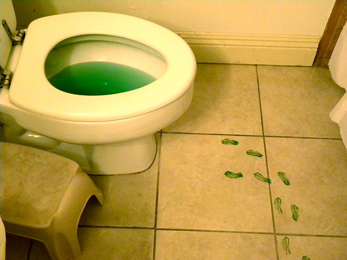 The Leprechauns Peed!