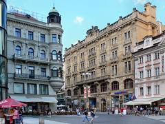 Praga - Plaza de Wenceslao (Caballero2105) Tags: travel lumix arquitectura europa europe czech prague eu praga panasonic viajes czechrepublic lx1 dmc republicacheca caballero2105