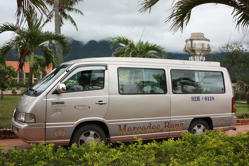 Our mini van that took us from Hue to Hoi An