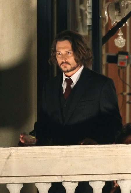 Johnny Depp The Tourist traje formal
