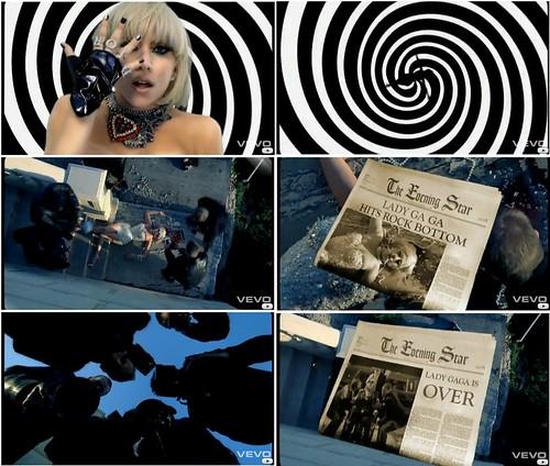 Photogrammes de la vidéo Lady Gaga - Paparazzi entre 2:04 et 2:27