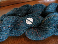 Midnite Lava Flow yarn
