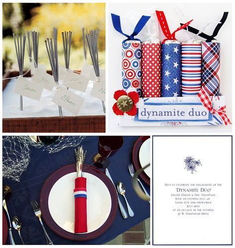 Dynamite Duo: A Firecracker Engagment Party (Day)