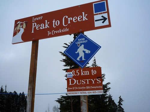 Part way down Peak to Creek