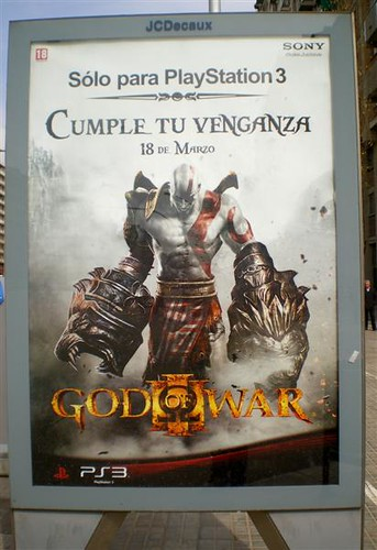 Marquesinas GOD OF WAR