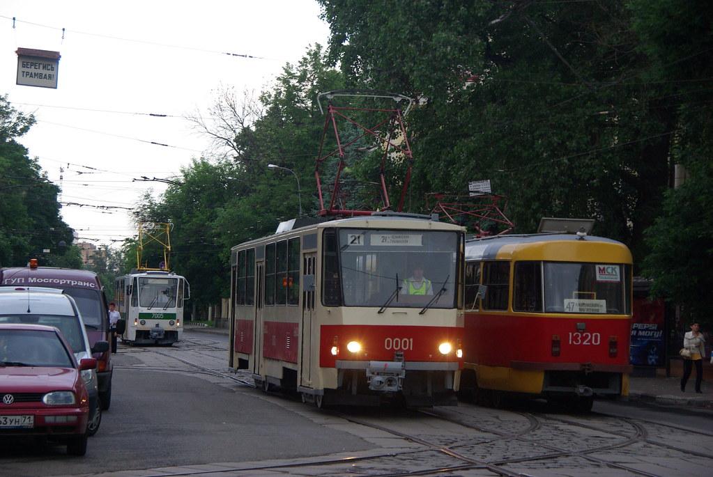 фото: Moscow tram Tatra T6B5SU 0001 _20090613_060