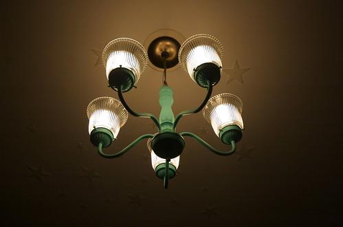 Bedroom update: lights