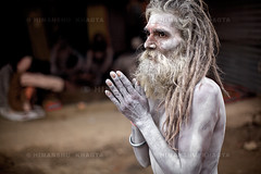 Kumbh Mela 2010, Haridwar 1 (Himanshu Khagta) Tags: portrait people india religion photojournalism ash hinduism sadhu naga haridwar kumbhmela nagasadhu uttarakhand shahisnan junaakhaara