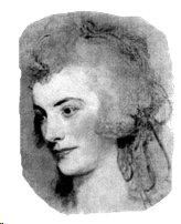 Stuart 1787 Sketch of Anne Bingham