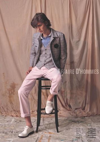 Roman Duvigneau0014_AFFAIRE D'HOMMES SS2010 Catalog